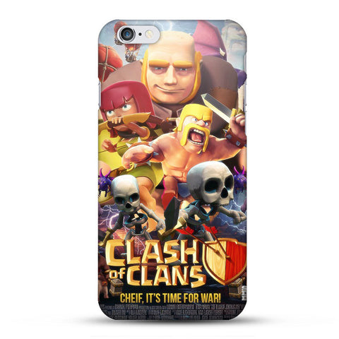 Clash of Clans Case For iPhone Hard Back Cover