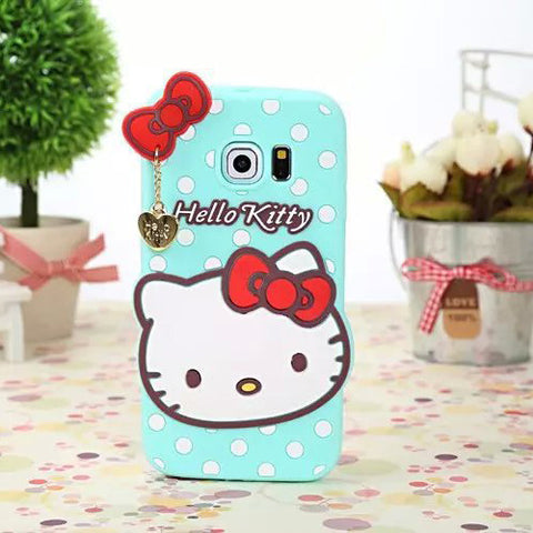 Hello Kitty For Samsung Silicone case