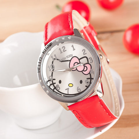 Children's Watch Cartoon Hello Kitty