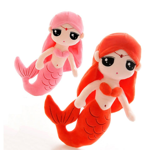 Cute Mermaid Plush Girl Doll