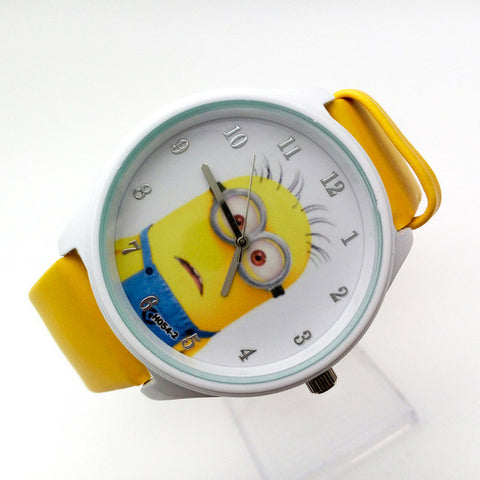 Minion Leather Watch