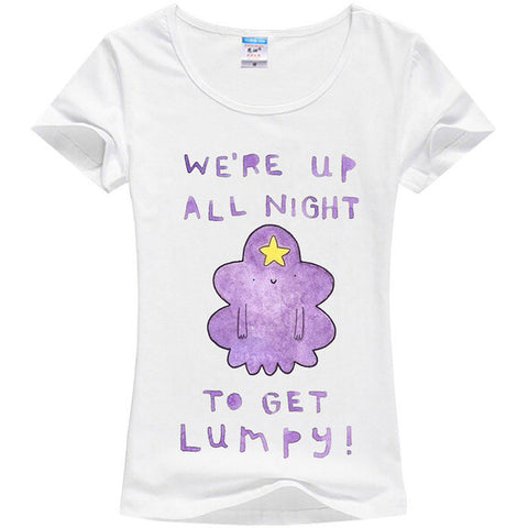 We're Up All Night To Get Lumpy Shirt