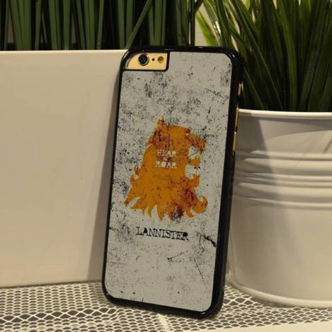 Game of Thrones House Lannister iPhone Case