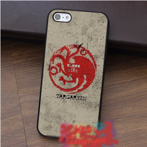 Game of Thrones House Targaryen iPhone Case