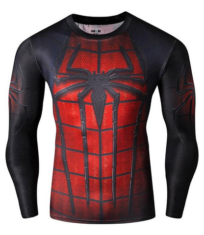 The Amazing Spiderman Fitness Longsleeve