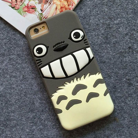 Totoro Soft Silicon iPhone Case