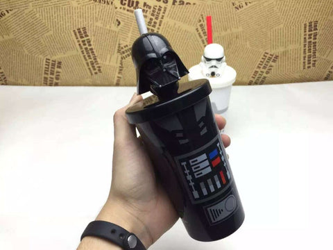 Star Wars Darth Vader Creative Gift Cartoon Cup with Straw
