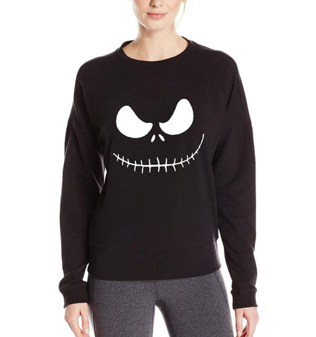 Jack Skellington Evil Smile Sweater