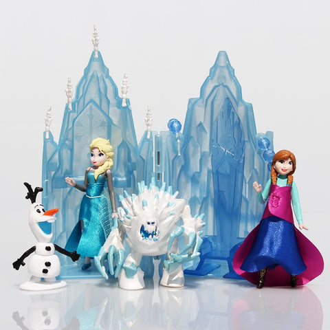 Princess Castle Ice Palace Throne Play Set