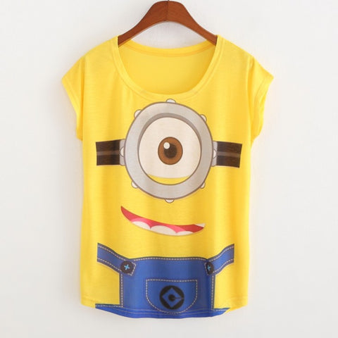 Minions Summer Short Sleeve Shirt 01