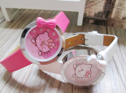 Hello Kitty Kids Cartoon Watch