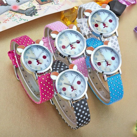 Rilakkuma Face Shape Watch