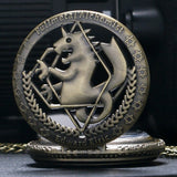 Full Metal Alchemist Pocket Watch and Necklace