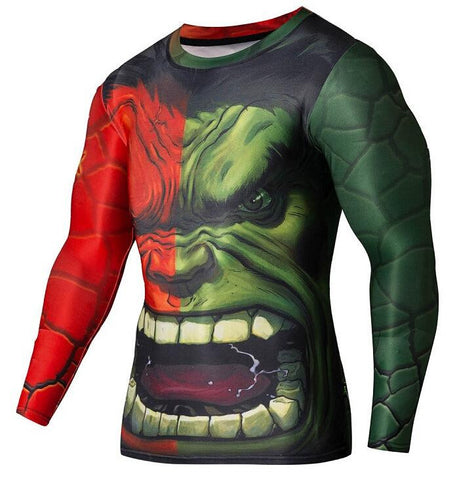 The Hulk Fitness Longsleeve