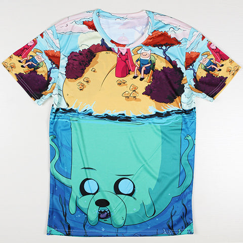 Adventure Time Printed Casual Shirt 01