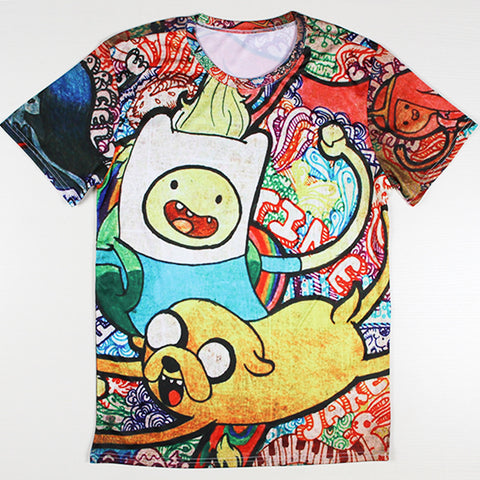 Adventure Time Printed Casual Shirt 03