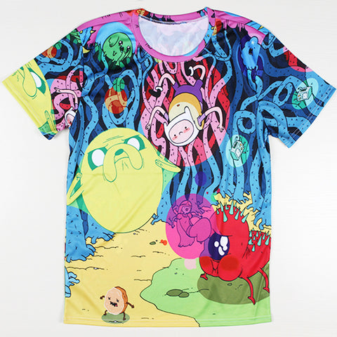 Adventure Time Printed Casual Shirt 02