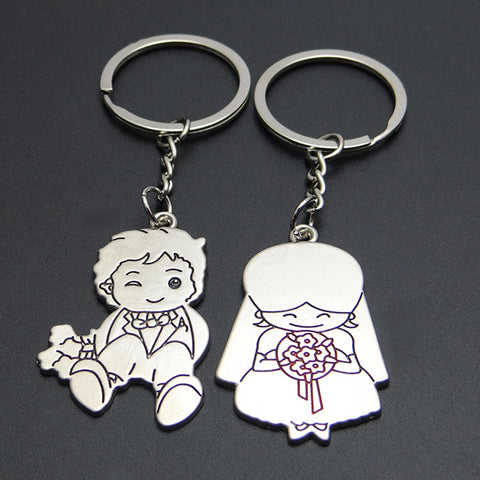 Married Couple Key Chain