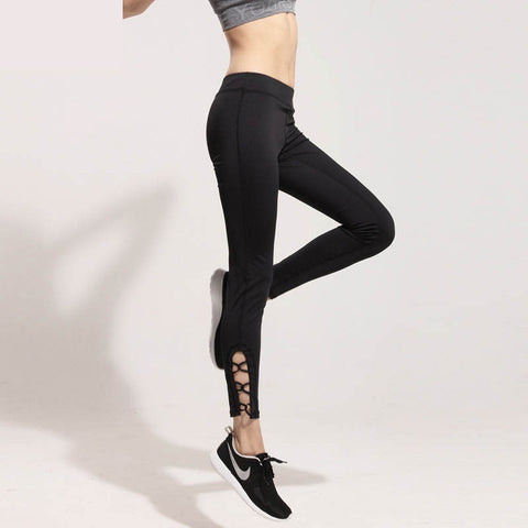 Spandex Yoga Leggings Fitness Running Trousers sportswear