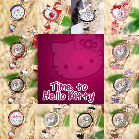 Hello Kitty Cute Metal Watch