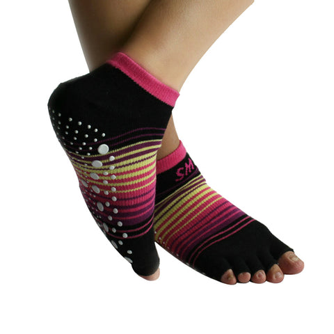 Women Rubber Dots Sports Exercise Socks