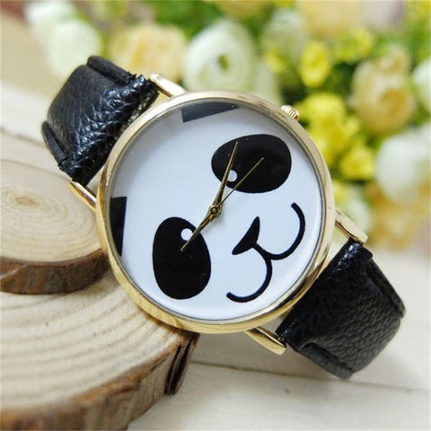 Cartoon Watch Fashion Panda