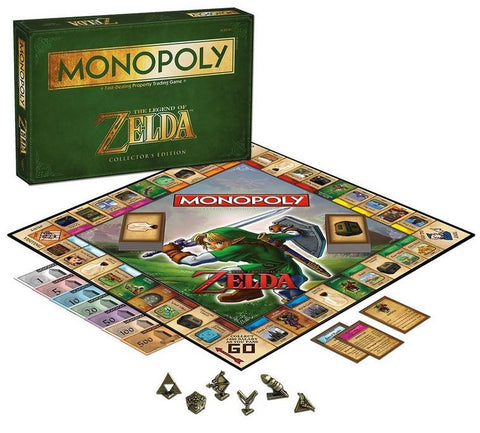 The Legend of Zelda Monopoly Board Game Collector's Edition