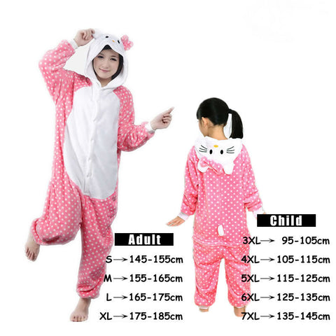Hello Kitty Pink Polka Dots Onesie