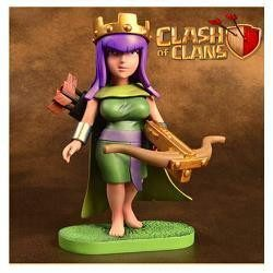 Action Figure - CLASH OF CLANS ARCHER QUEEN ACTION FIGURE