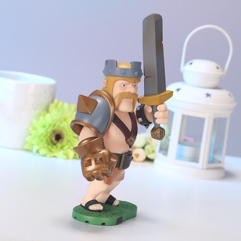 Action Figure - Clash Of Clans Barbarian King Action Figure