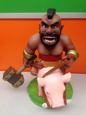 Action Figure - Clash Of Clans Hog Rider Action Figure