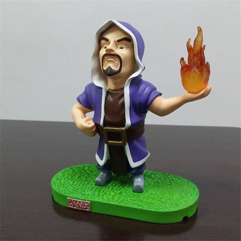 Action Figure - Clash Of Clans Wizard Figure PVC Collectible Toy Doll Action Figure