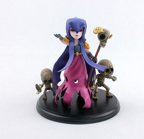 Action Figure - COC Clash Of Clans Figure Toy Witch PVC Figure Collectible Toy Free Shipping