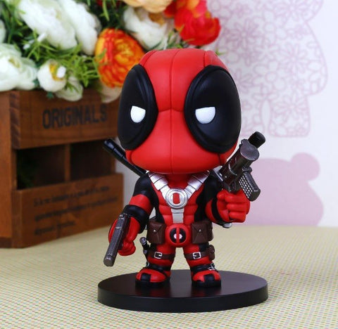 Action Figure - Deadpool Q Version X-men PVC Action Figures