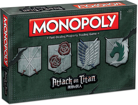 MONOPOLY: Attack on Titan Board Game