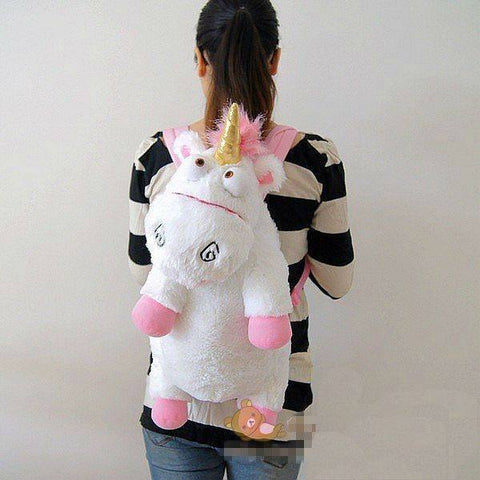 Bag - Despicable Me Unicorn Agnes Plush Backpack - 40% Off!