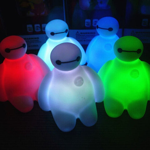 Baymax Colors Changing LED Lamp