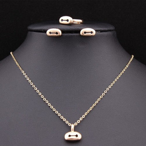 Baymax Gift Chain Jewelry Set