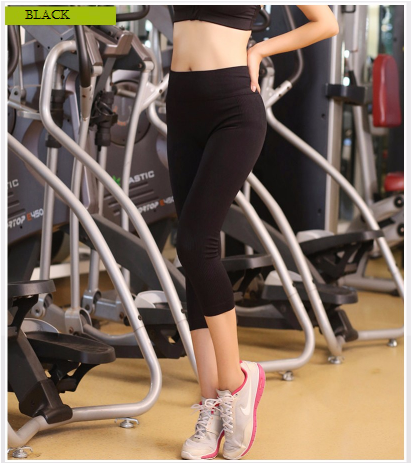 Women Sport Pants Black Yoga Workout Fitness Sports Leggings