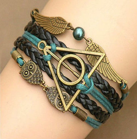 Bracelet - Harry Potter Deathly Hollows Bracelet