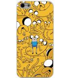 Cell Phone Case - Adventure Time With Jake And Finn Hard White Clear Cover Case For Iphone 4 4 S 5 5 S 5 C 6 6S 6 Plus