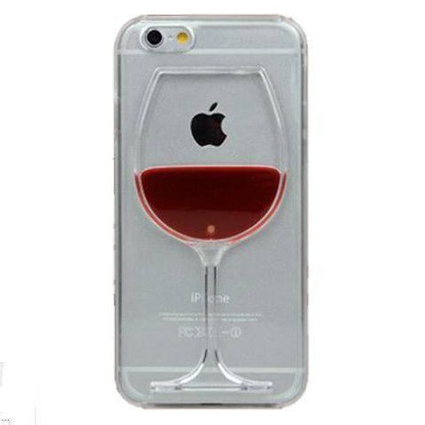 Cell Phone Case - Interactive Wine Case For Iphone