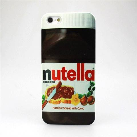 Cell Phone Case - Nutella Novelty Case For Iphone