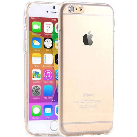 Cell Phone Case - SUPER FLEXIBLE CLEAR CASE FOR IPHONE 6 6S