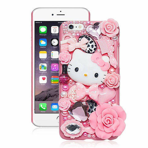 Cute Hello Kitty Rhinestone Case