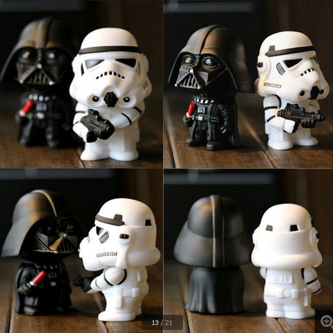 Darth Vader Stormtrooper PVC Action Figures