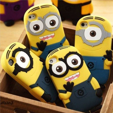 Despicable Me Minion Apple Case