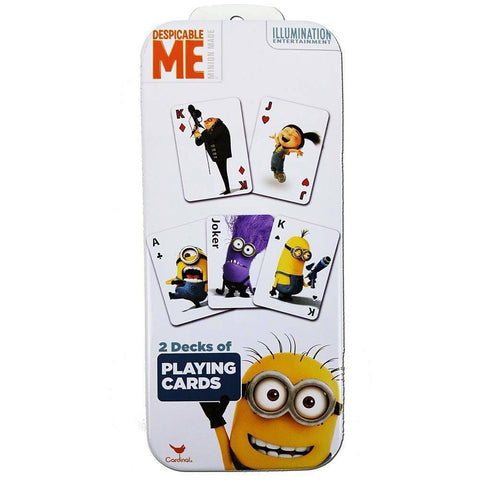 Despicable Me Minions Deck Cards
