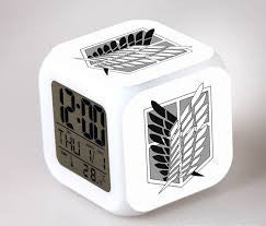 Attack on Titan Digital Alarm Clock