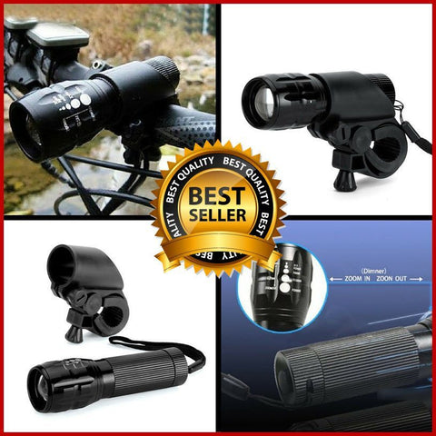 Flashlights - 2000 Lumens Cycling Bike Lights